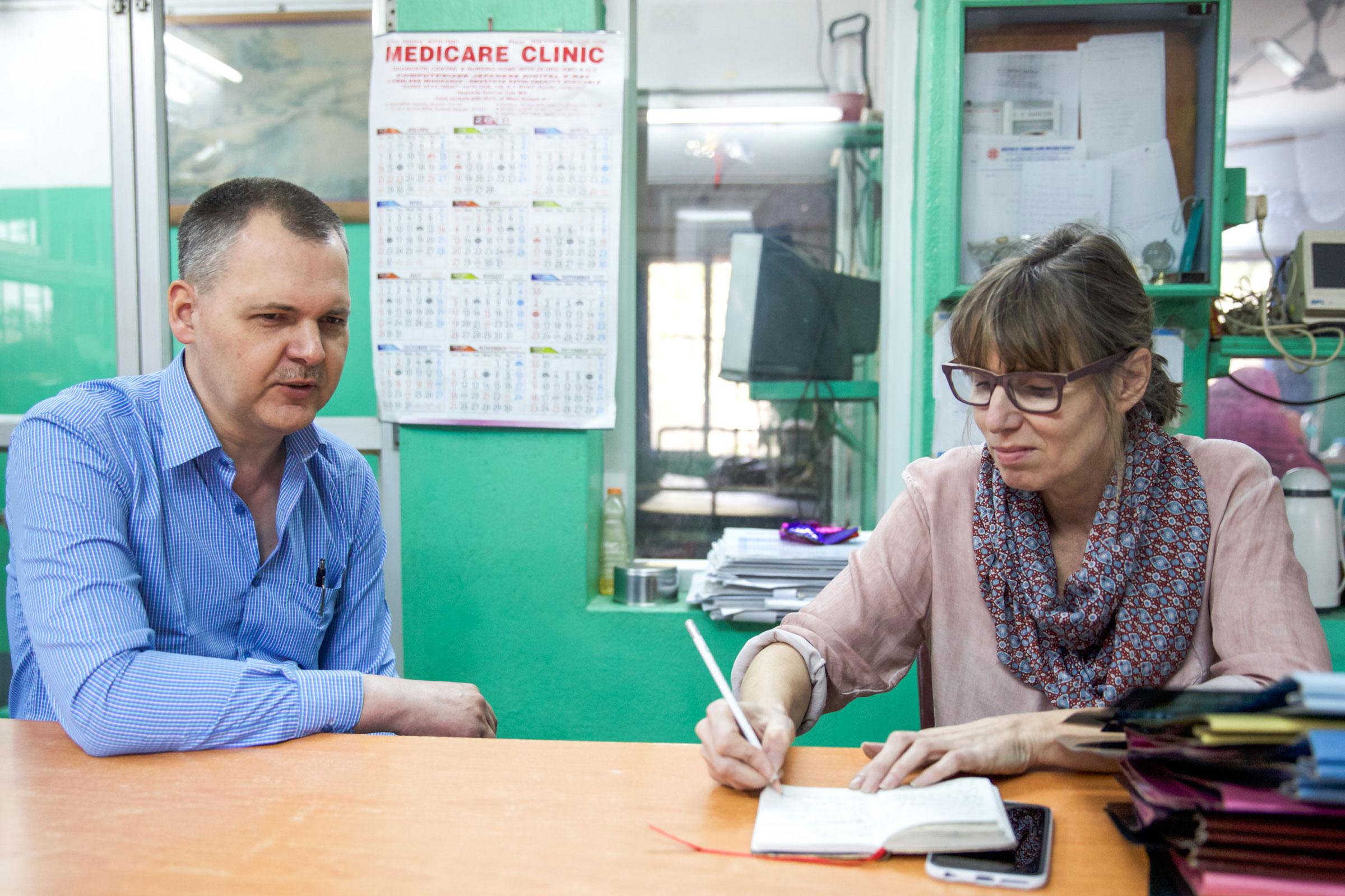 Dr. Tobias Vogt im Interview mit Sabine Anne Lück